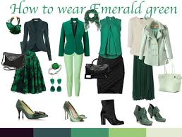 what color matches green how to wear green colour of the year emerald green