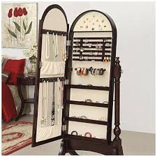 Pier One Mirror Jewelry Armoire I Need This So Bad Cherry Cheval Mirror Jewelry Armoire At Big