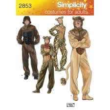 Wilfred Costume Pattern For Costumes Simplicity