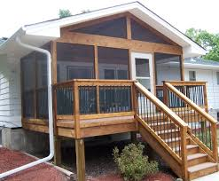 Front Porch Ideas For Mobile Homes Small Front Porch Deck Ideas Home Design Ideas
