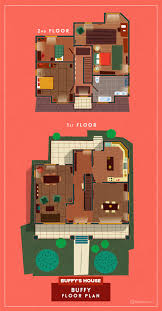 Tv Show Apartment Floor Plans Extremely Detailed Floor Plans Of Iconic Tv Show Homes The