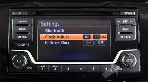 nissan sentra 2016 youtube 2016 nissan sentra setting the clock without navigation type b