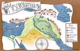 Fertile Crescent Map Mesopotamia History