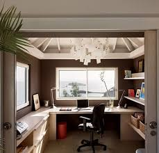 Small Room Office Ideas Desk With Views House Office Pinterest White Trim Office