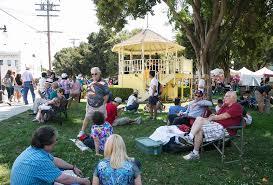 photos italian family festa at history park in san jose