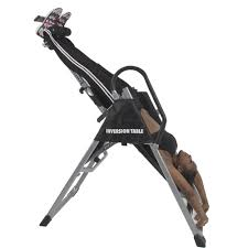 Inversion Table For Neck Pain by Inversion Table Pro Deluxe Fitness Chiropractic Table Exercise