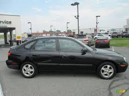 hyundai accent gt 2003 black obsidian 2003 hyundai elantra gt hatchback exterior photo