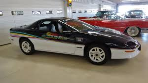 camaro pace car 1993 chevrolet camaro z28 pace car stock 106741 for sale near