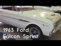 1960 Ford Falcon Interior 1963 Ford Falcon Sprint Interior Youtube