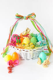 vintage easter baskets decoration lovely vintage easter decorations featuring and