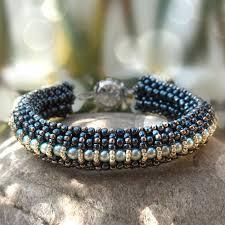 bracelet bead tutorials images Beading pattern elizabet bracelet beading tutorials jpg