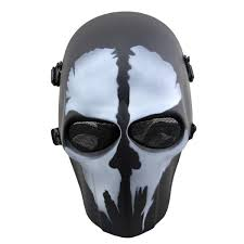 ghost mask army outgeek airsoft mask full face protective mesh mask skull mask for