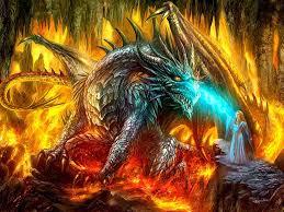free dragon wizard wallpaper wallpapersafari