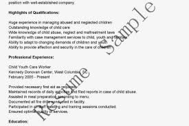 Youth Worker Resume Daycare Resume Examples Resume Example And Free Resume Maker
