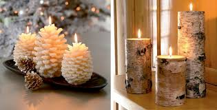 christmas decorations candles home decorating interior design