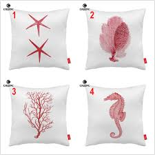 online get cheap sea coral cushion cover aliexpress com alibaba