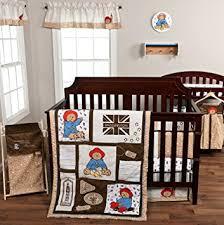 paddington nursery trend lab paddington 9 pc nursery crib bedding set by trend