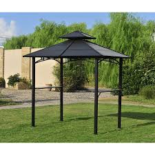 ideas stunning brown lowes gazebos with light steam brown canopy