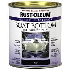 shop rust oleum marine coatings black flat antifouling enamel oil