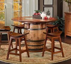 Barrel Bar Table Fantastic Jack Daniels Barrel Bar Table With Jack Daniels