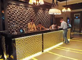 Luxury Reception Desk The Continent Hotel Bangkok 5 Star Luxury And Style Splash