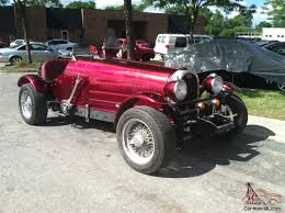 custom bugatti bugatti t35 other replica 1986 build nice custom paint