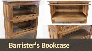 273 barrister u0027s bookcase youtube