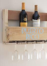 wood pallet wine rack reusing a wooden pallet