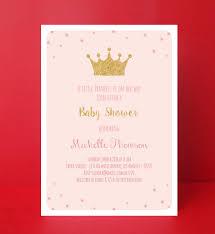 Princess Themed Invitation Card Princess Baby Shower Invitation Baby Shower Invite Editable