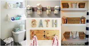craft ideas for bathroom 18 creative bathroom storage ideas how to