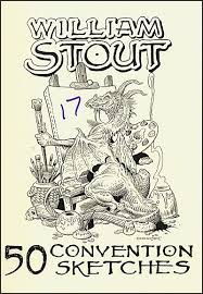 william stout 50 convention sketches 17 signed