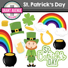 grant avenue design st patrick u0027s day clipart