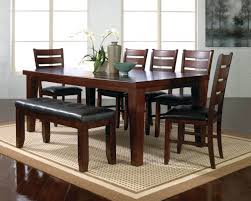 Dining Room Furniture Denver Dining Chairs Dark Oak Finish Casual Dining Table W Optional