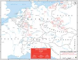 Map Of Europe 1938 by Map Of Wwii Central Europe 1939 Wehrmacht