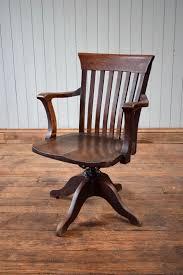swivel captains chair antique captain u0027s swivel oak desk office chair by wm angus london