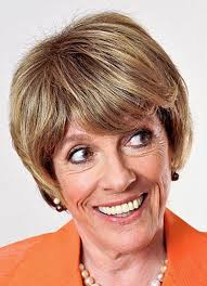 thinning hair in women on top of head esther rantzen talks wigs and thin hair