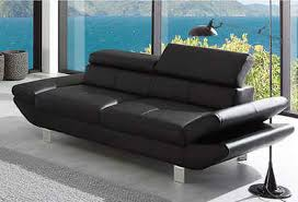 sofa 3 sitzer leder echt leder 3 sitzer sofas kaufen otto