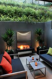 modern patio can you squeeze an outdoor retreat onto a small lot