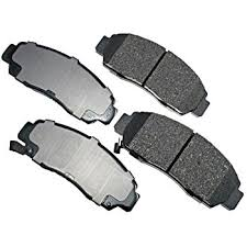 amazon com akebono act787 proact ultra premium ceramic brake pad