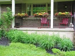 railing planters deck home decorations insight