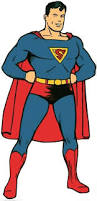 superman clipart muscular pencil color superman clipart