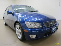 lexus is300 blue 2001 spectra blue mica lexus is 300 70963079 gtcarlot com car