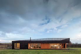 howe farm is an air tight timber clad farmhouse with a fresh new