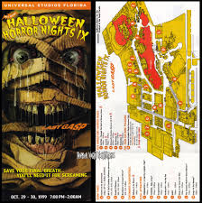 halloween horror nights orlando map hhn ix