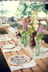 Rustic wedding table setting Fab Mood