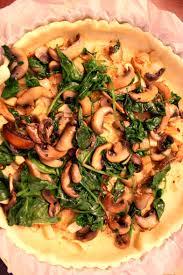 cuisiner tofu fumé quiche végétale aux chignons épinards tofu fumé socca cuisine