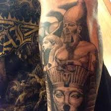 random egyptian inspired tattoos world wide sola rey