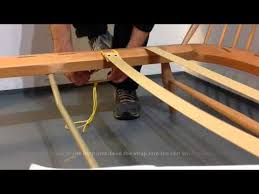 Chair Webbing Straps How To Reweb Ercol Youtube