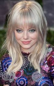 hairstyles for straight across bangs 55 excellent hairstyles of emma stone