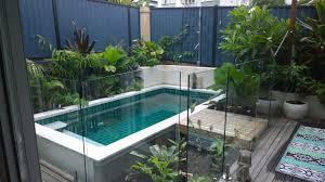 Australian Backyard Ideas Beautiful Installation Of Our Rectangle Australian Plunge Pool